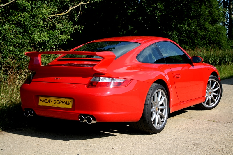 Porsche 997 C2 3.6 manual Coupe