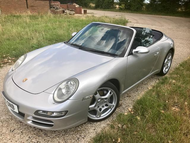 Porsche 997 3.6 Carrera Cabriolet manual